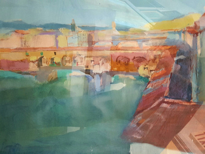 Florence watercolor 1,000