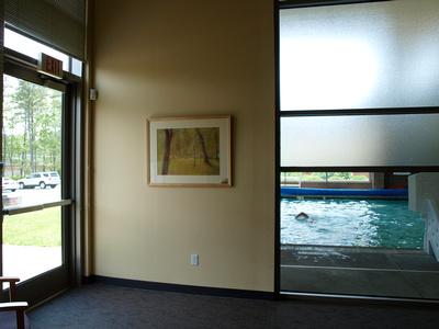 art and framing maple design and original painting for atlanticare life center