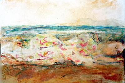 """original watercolor painting 22""""18"""