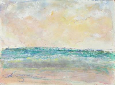 original pastel watercolor $2,000