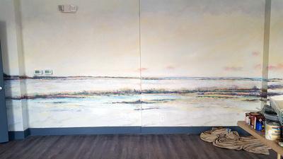 mural toga room detox center
