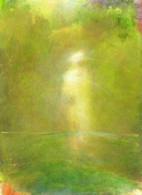"evergreen Darshanoriginal watercolor painting 22""30'"