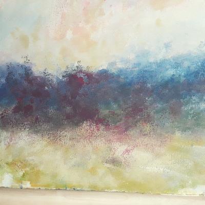 "Shenandoah watercolor 20x30""  $1,800"