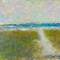 dune path to the sea jersey shoreoriginal pastel watercolor $2,000