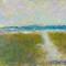 dune path to the sea jersey shoreoriginal pastel watercolor $2,000