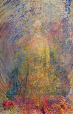 """Sawan Singh watercolororiginal watercolor painting 22""""30'"""