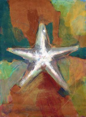 "Starfish original 5,000 30""x22"" print 250."
