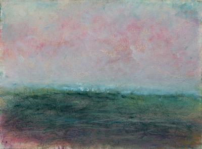 ocean sunsetoriginal pastel watercolor $2,000