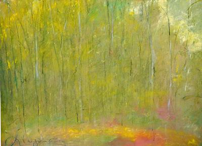 summer birches original Maine 22'30'
