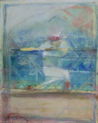 """original watercolor painting 22""""30'"""