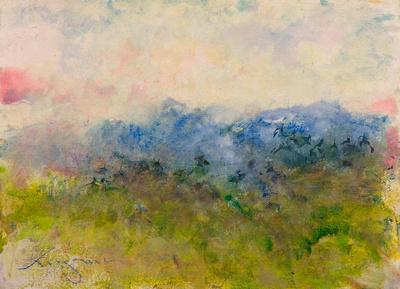 original watercolor Shenandoah Virginia painted on location Shenandoah Valley$1,200