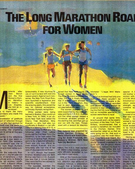 ny times marathon section