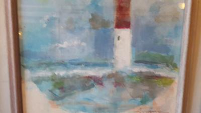 Barnegat light watercolor